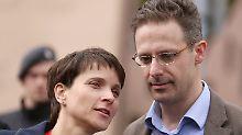 """""""Klar, dass Schritt erfolgt"""": Petry und Pretzell wollen AfD verlassen"""