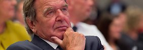 Keine neue Große Koalition: Schröder zweifelt SPD-Absage an Merkel an