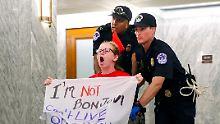 Abstimmung im Senat abgesagt: Obamacare wird nicht abgeschafft