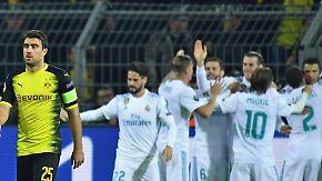 Laufkundschaft in der Königsklasse: Real Madrid zerlegt Dortmund
