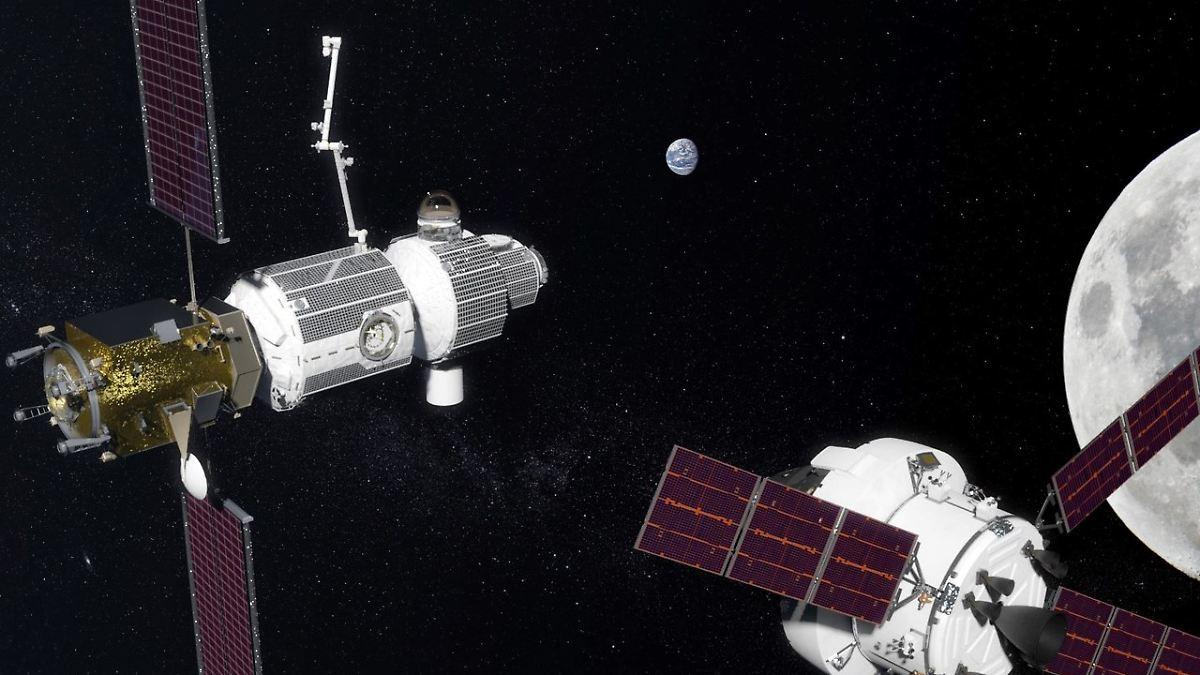 USA und Russland planen Raumstation