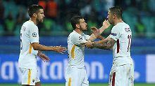 Der Sport-Tag: AS Rom gewinnt historisches CL-Spiel in Aserbaidschan