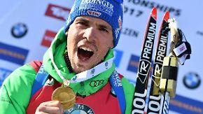 """Wahl zum """"Champion des Jahres"""": Biathlet Simon Schempp im Portrait"""