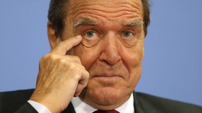 Gerhard Schröder dürfte am Freitag in den Aufsichtsrat des Konzerns Rosneft gewählt werden.