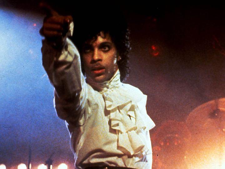 """Szene aus """"Purple Rain"""" - Single, Album und Film brachten Prince 1984 den internationalen Durchbruch."""