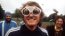 Immer gut gelaunt: Bayern-Keeper Sepp Maier.