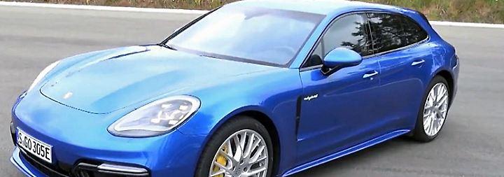 Schnellster Plug-in-Hybrid der Welt: Porsche Panamera Sport Turismo setzt auf E-Mobilität