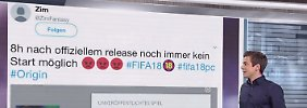 n-tv Netzreporter: Downloadprobleme bei #fifa18 sorgen für Unmut