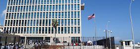 Schallattacken auf US-Diplomaten: USA ziehen Botschaftspersonal in Kuba ab