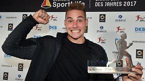 """Wahl zum """"Champion des Jahres 2017"""": Speer-Ass Johannes Vetter triumphiert"""