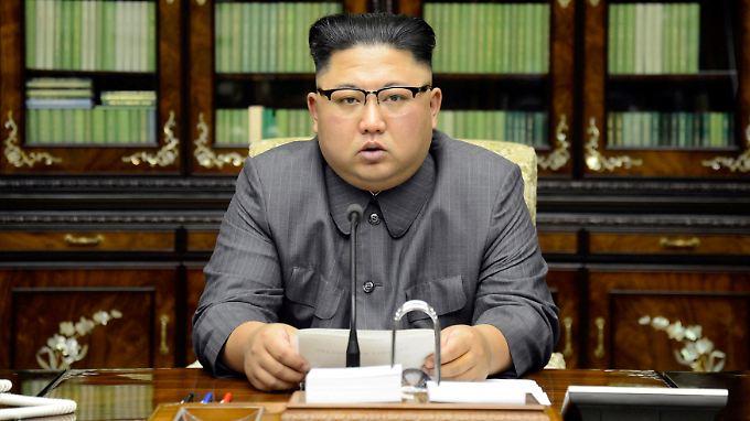 Nordkoreas Machthaber Kim Jong Un treibt das Atomwaffenprogramm des Landes voran.