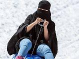 Verbot in Österreich in Kraft: Kampf gegen die Burka beginnt am Flughafen