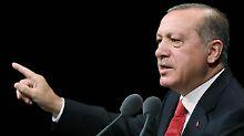 """""""Wir werden nicht nachgeben"""": Erdogan: Türkei braucht EU nicht mehr"""