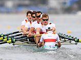 """""""Vize""""-Fluch beendet: Deutschland-Achter holt Gold bei Ruder-WM"""