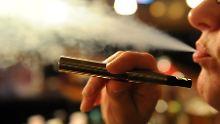 Raucherrate sinkt nur langsam: WHO sieht E-Zigaretten als Gefahr