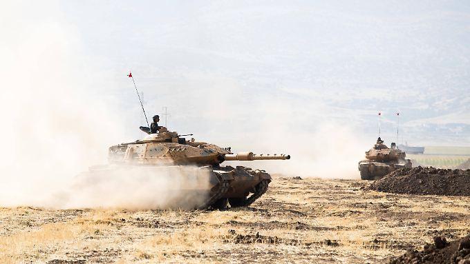 Erst veranstaltete der Irak ein Manöver mit der Türkei (Bild) - nun gibt es eins mit dem Iran.