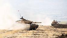 Im Grenzgebiet zu den Kurden: Irak und Iran halten Manöver ab