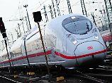 Epileptischer Anfall am Gleis: Passanten retten Mann vor einfahrendem ICE