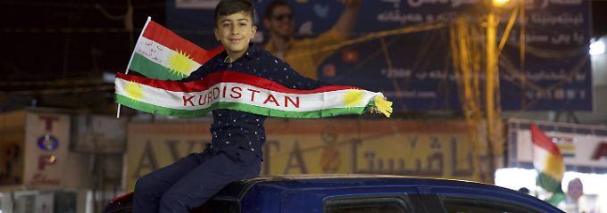 Seit Jahrzehnten kämpfen die Kurden für einen eigenen Staat. Nun scheint die Gelegenheit zum Greifen nah.