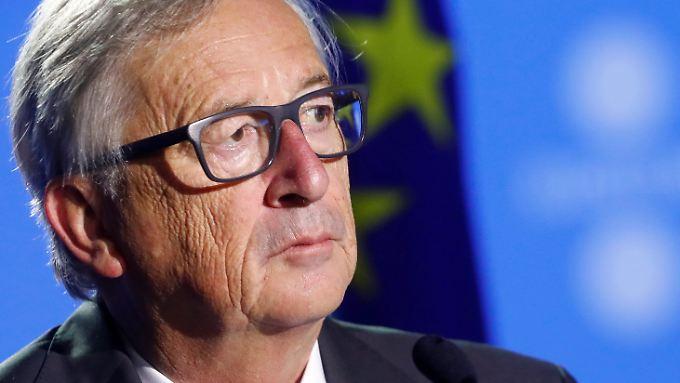 Jean-Claude Juncker hält die zweite Phase der Brexit-Gespräche noch nicht gekommen.