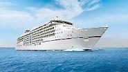 """Schönheitskur für Luxusschiff: Einblicke in die """"MS Europa 2"""""""
