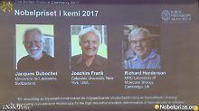 Neue Chemie-Nobelpreisträger: Drei Forscher für Mikroskopie-Technik geehrt