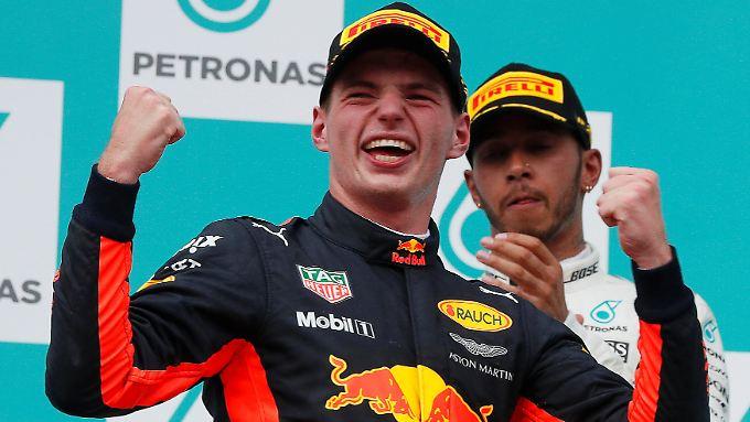 Red Bull ist obenauf: Der Rennstall geht ohne Druck in die verbleibenden Rennen, anders als Konkurrent Mercedes.