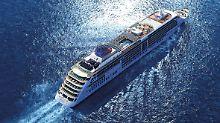 """Nun fährt die """"MS Europa 2"""" wieder runderneuert über die Weltmeere."""