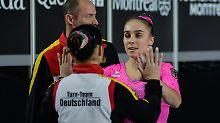 Neue Elemente - und Verletzungen: Deutsche Turnerinnen dürfen träumen