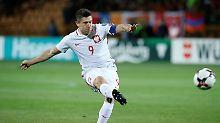 Neuer Landes-Rekordtorschütze: Lewandowski fertigt Armenien ab