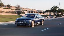 Der neue Audi A8 kann sogar nach Level 3 autonom fahren. Der Kunde hat davon nichts.