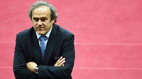Michel Platini ist natürlich nur einer Verschwörung zum Opfer gefallen ...