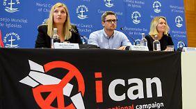 Friedensnobelpreisträger 2017: Ican fordert deutschen Beitritt zum Atomwaffenverbot