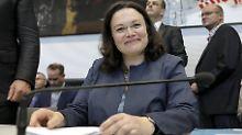"""Landtagswahlen in Niedersachsen: Nahles schließt """"Rot-Rot-Grün"""" nicht aus"""