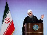 """""""Ob einer oder zehn Trumps"""": Ruhani nennt Atomabkommen unumkehrbar"""