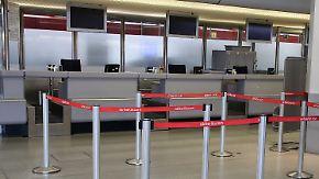 Schreiben vom Betriebsrat: Air Berlin droht mit Entlassung aller Bodenmitarbeiter