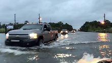 """100.000 Menschen ohne Strom: """"Nate"""" verschont US-Golfküste weitgehend"""