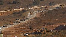 Erste Schusswechsel an Grenze: Türkei schickt Armee ins nordsyrische Idlib