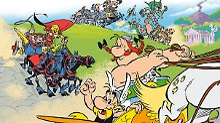 "Gallische Helden in Italien: Autorenduo stellt neuen ""Asterix""-Comic vor"