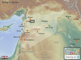 Idlib ist die Hauptstadt des gleichnamigen Regierungsbezirks im Nordwesten Syriens.