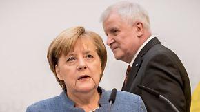 Politische On-Off-Beziehung: Merkel und Seehofer können nur gemeinsam - ob sie wollen oder nicht