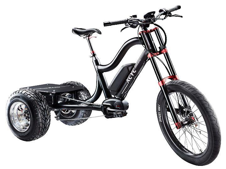 Mit dem XCYC ist auch ein für große Lasten optimiertes Bike im Angebot.