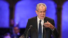 Staatsoberhaupt mahnt: Van der Bellen mischt sich in Wahlkampf ein