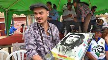 """""""Hasta la victoria siempre"""": Zehntausende Linke feiern Che Guevara"""