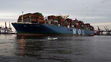 Deutlich mehr als im Sommer 2016: Deutschlands Exporte schwellen an