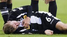 Christoph Kramer lässt nur selten einen Zweikampf aus - oft mit herben Folgen für den Fußballer von Borussia Mönchengladbach.