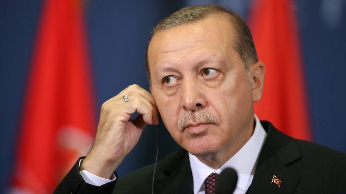 Erdogan möchte mit dem scheidenden US-Diplomaten nichts mehr zu tun haben.