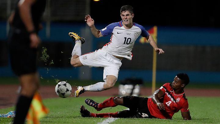 Pulisic fliegt mit seiner Mannschaft aus der WM-Qualifikation.