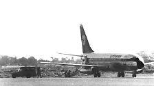 Die Terroristen lotsen den Flug mit der Nummer LH181 zunächst nach Rom.