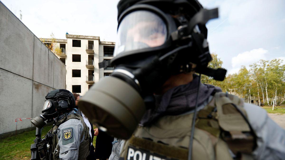 Bundespolizei Waffen
